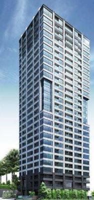 【外観】ザ・パークハウス白金二丁目タワー