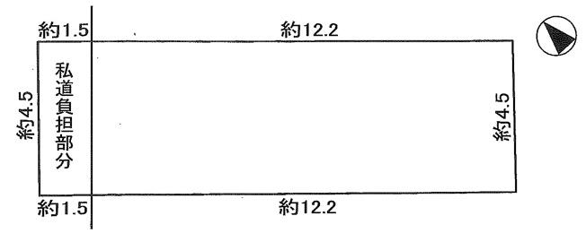 【土地図】明石市東藤江1丁目 土地