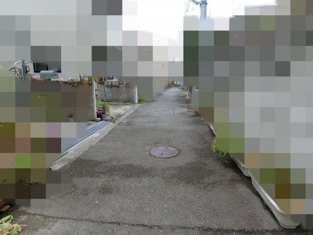 【前面道路含む現地写真】明石市東藤江1丁目 土地