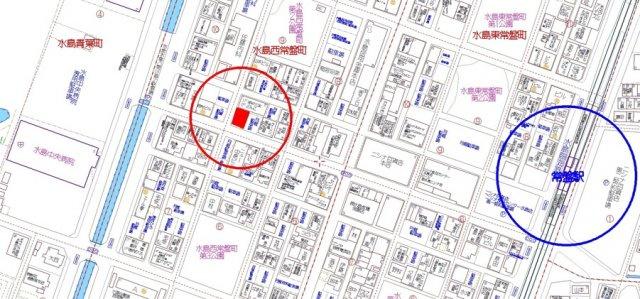 【地図】水島西常盤町 収益物件