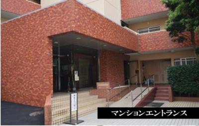 【エントランス】湘南グリーンハイツ 1号棟