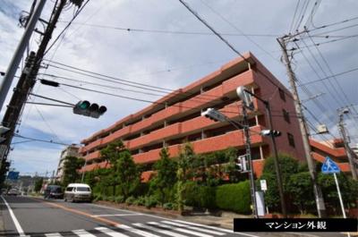 【外観】湘南グリーンハイツ 1号棟