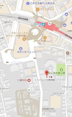 【地図】 セジョリ大泉学園
