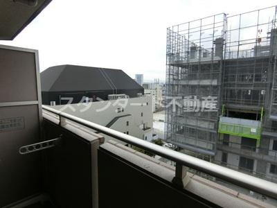 【バルコニー】S-RESIDENCE福島Luxe(エスレジデンス福島ラグゼ)