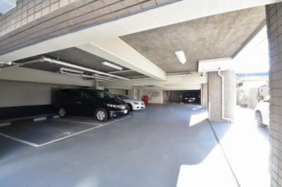 【駐車場】イトーピア鷺沼マンション
