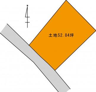 【土地図】前田1丁目売地