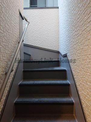 (仮)前野町5丁目コーポの階段