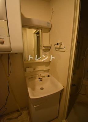 【洗面所】ニチレイ明石町レジデンス