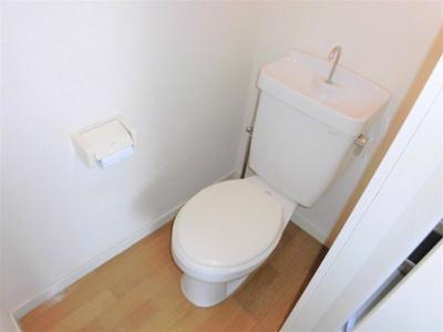 【トイレ】一光林町コーポ第二