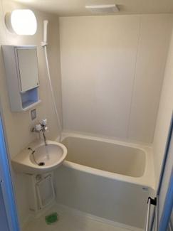 【浴室】柏木ハイツ
