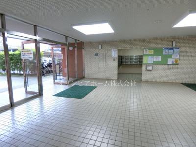 【エントランス】東大島ファミールハイツ2号館 4階 リ ノベーション済