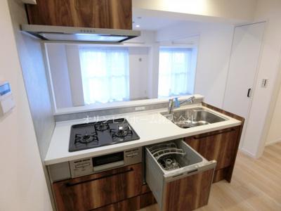 【キッチン】東大島ファミールハイツ2号館 4階 リ ノベーション済