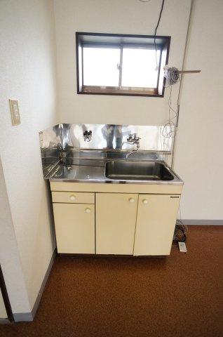 【キッチン】牡丹山事務所