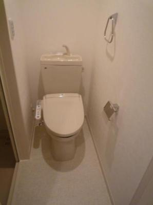 クアルト板橋のトイレ(同一仕様写真)
