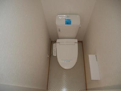 IVY HOUSE IKEBUKUROの落ち着いた色調のトイレです