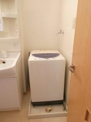 洗濯機置き場 設置モデル