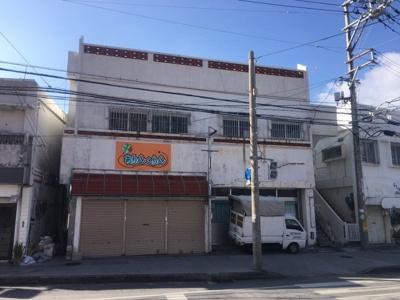 【外観】沖縄市山里の借地店舗兼住宅
