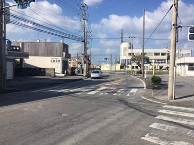 沖縄市山里の借地店舗兼住宅