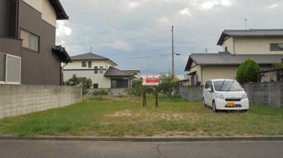 【外観】飯山町東坂元売土地