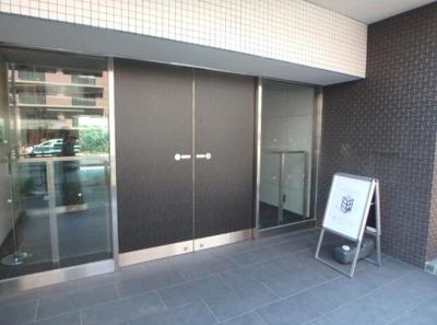 【エントランス】ザ・パークハビオ目黒