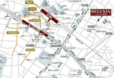 【地図】リルシア成増