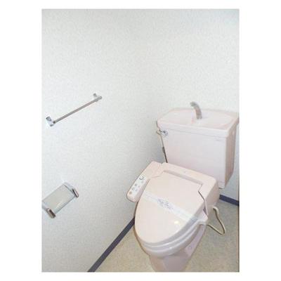 ダイアパレス千葉都町のトイレ