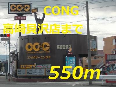 クリーニング CONGまで550m