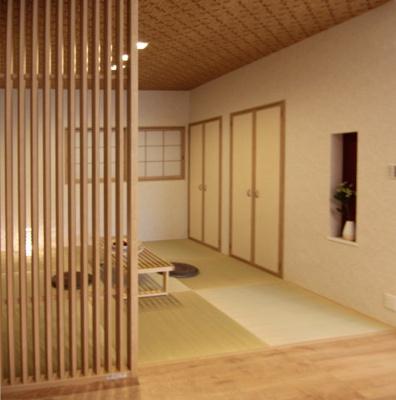 和室ならではの温かな和の空間で寛ぎの時間を過ごせます!当社施工例です♪