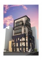 今泉1丁目新築店舗ビルの画像