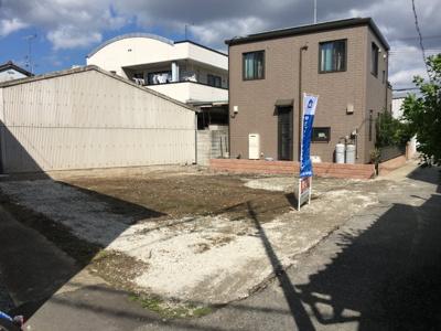 【前面道路含む現地写真】米田町平津土地