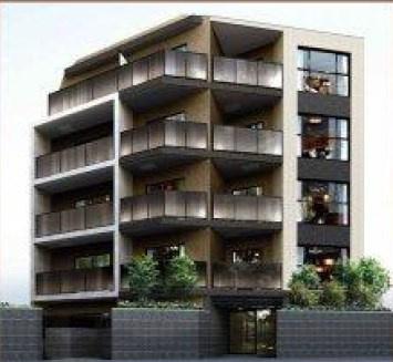 新築のマンションです
