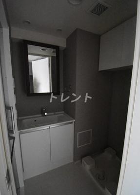 【洗面所】シティハウス東麻布