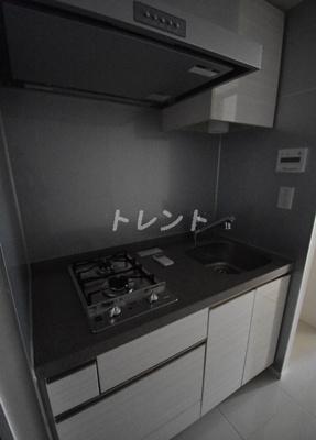 【キッチン】シティハウス東麻布