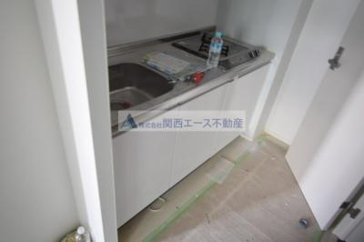 【キッチン】IoTアパートメント徳庵