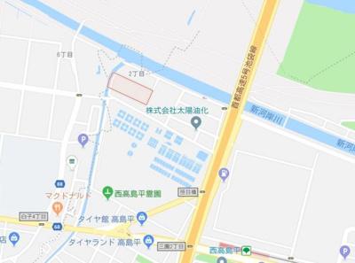 【地図】エスパシオ西高島平