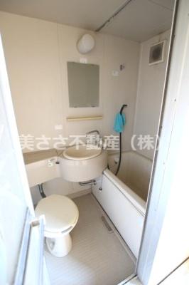 【浴室】シティーハイム パピヨン