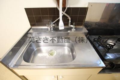 【キッチン】カサデフローラA棟