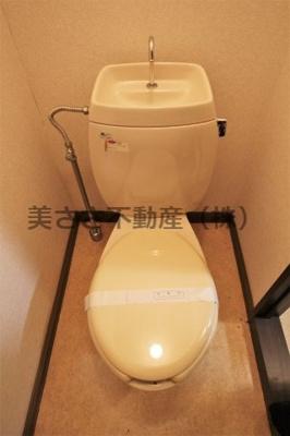 【トイレ】カサデフローラA棟
