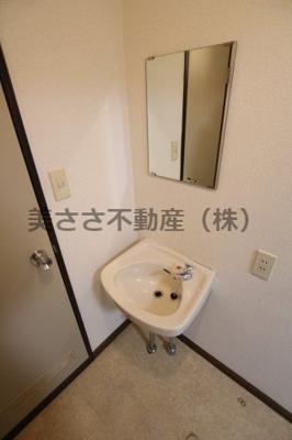 【洗面所】カサデフローラA棟