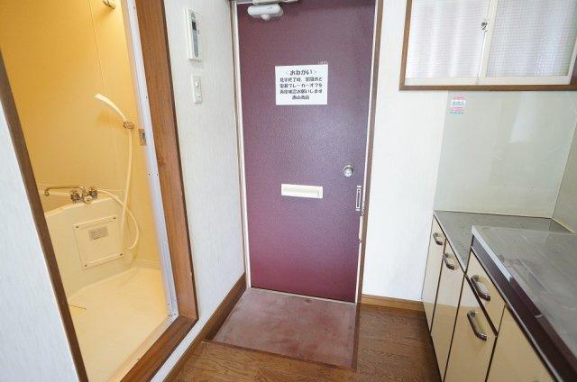 室内洗濯置場