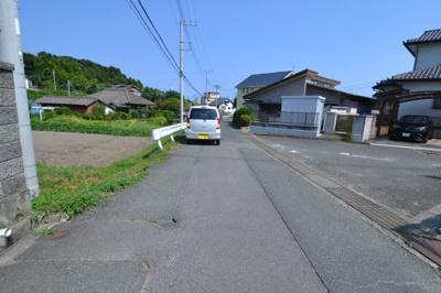 【前面道路含む現地写真】高萩市島名売地