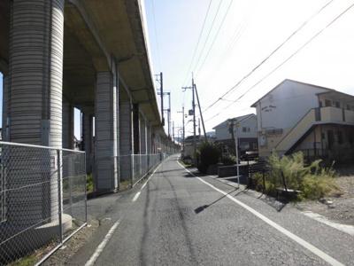 分譲地東側道路