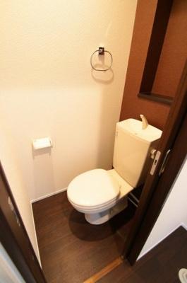 スタンダードなトイレです ミストパレス