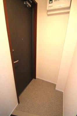 落ち着いた玄関です ミストパレス