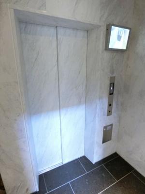 モニター付のエレベーターです!! ディアレイシャス尾久駅前