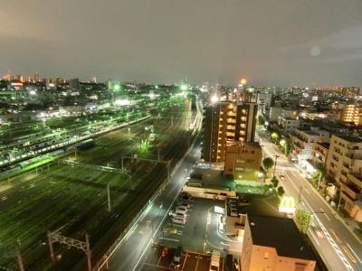 共用部からの眺望です ディアレイシャス尾久駅前