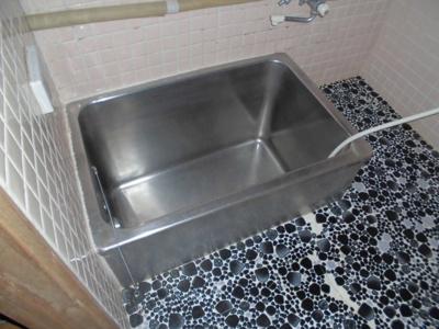 【浴室】大館市比内町片貝 ②・中古住宅
