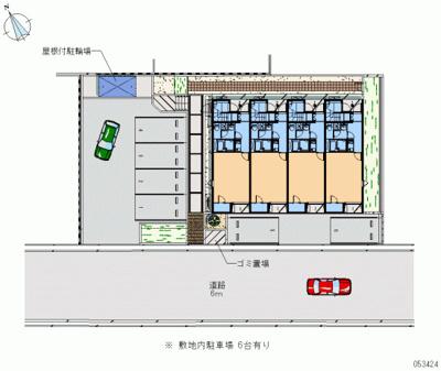 【区画図】レオネクストメゾン 藤原台