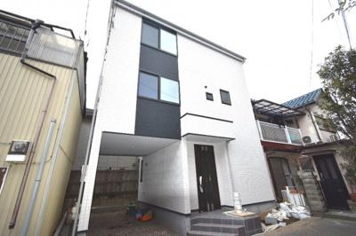 【外観】茅ヶ崎市本村 3階建て新築一戸建て