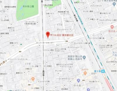 【地図】パティーナ十条